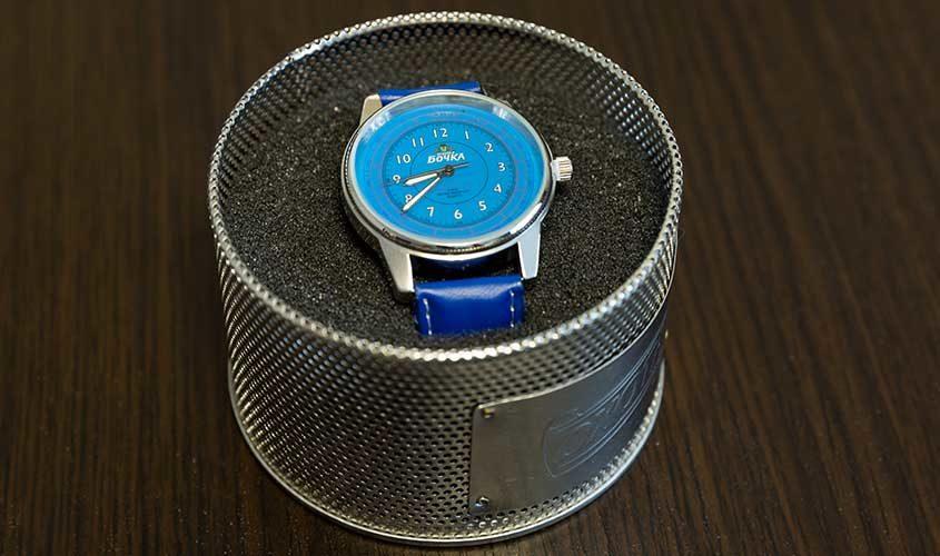 Часы кварцевые коллекционные Бочка
