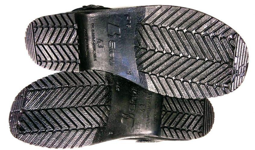 Антистатические комфортабельные туфли-сабо DATA